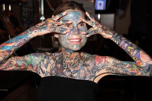 Personas más tatuadas del mundo