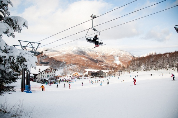 Nagano ski resort Japan