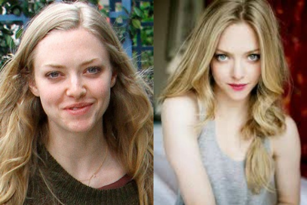 Amanda Seyfired photo without makeup