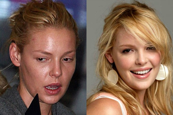 Katherine Heigl photo without makeup
