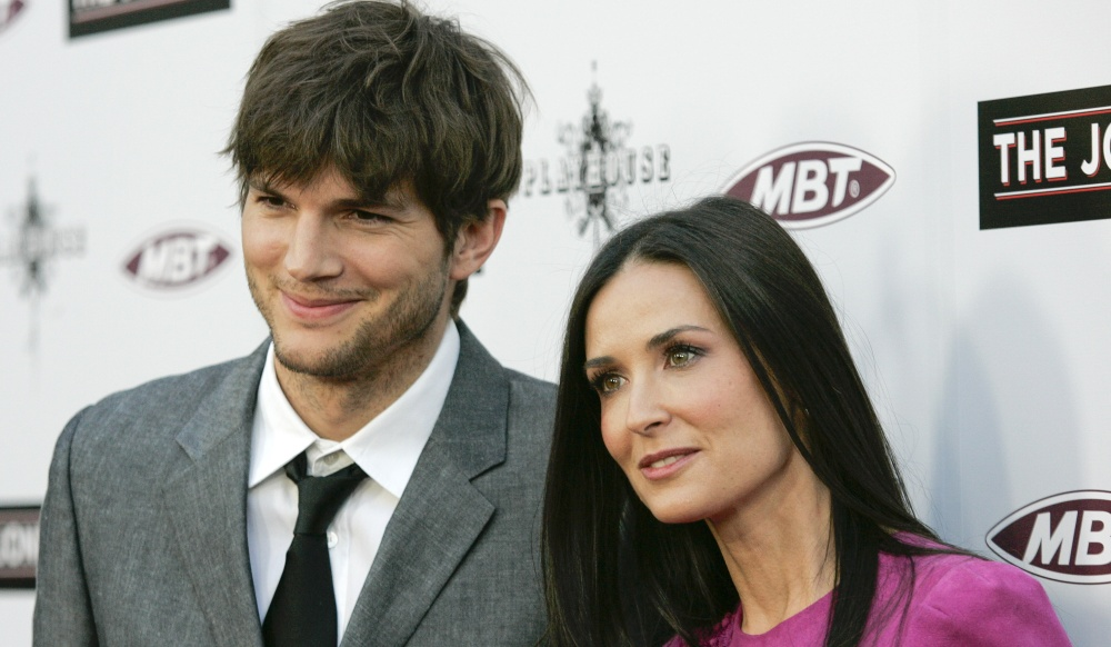 Demi Moore and Ashton Cutcher