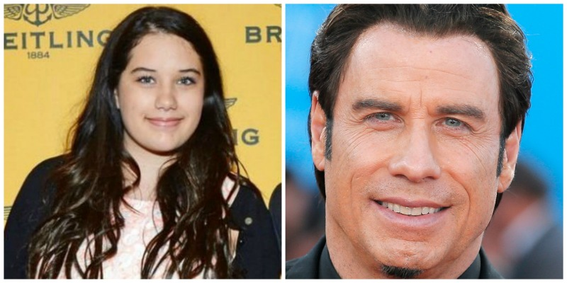 John Travolta and Ella bleu
