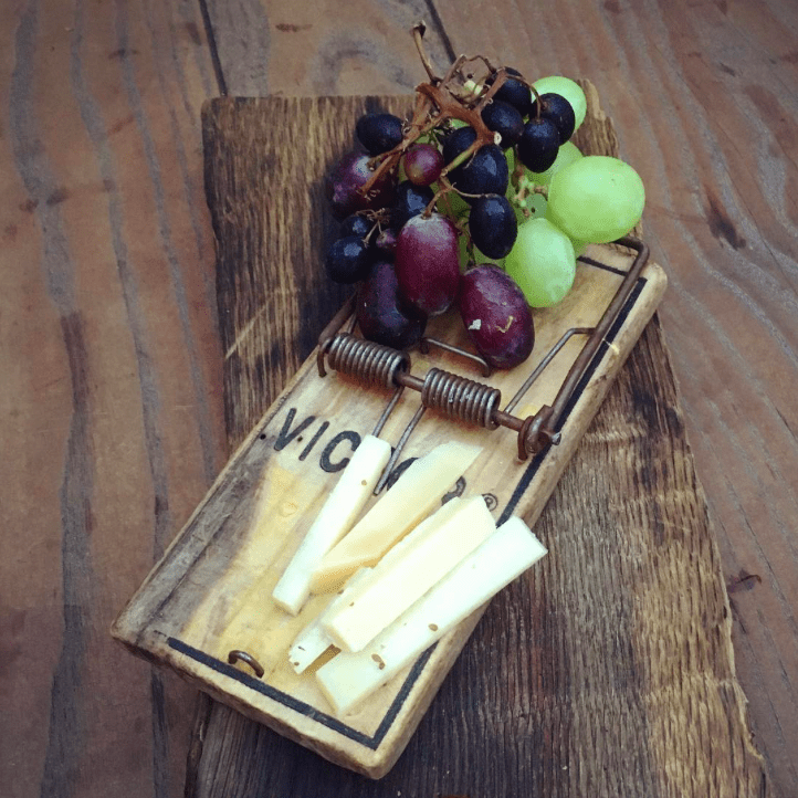 Mouse Trap Cheese Platter Decoration