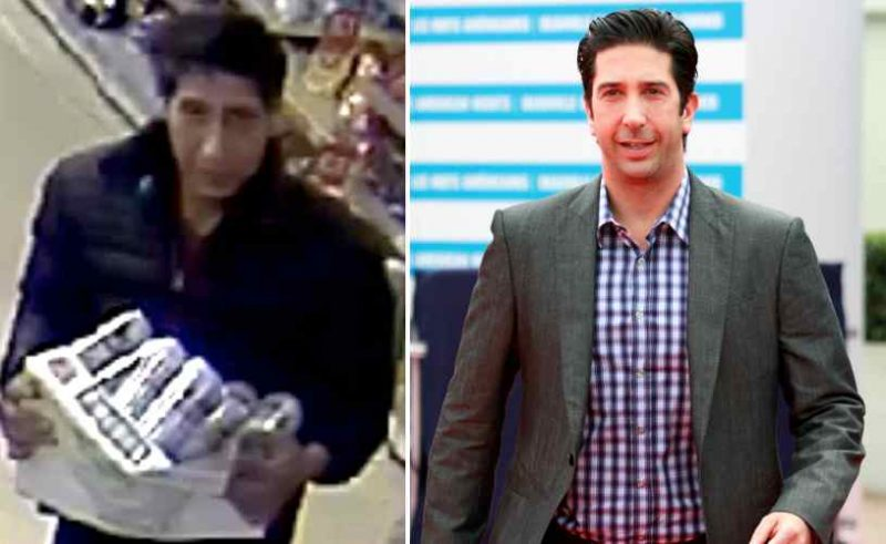 David Schwimmer Beer Thief