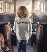Mini Boden Harry Potter Hogwarts Crest Sweatshirt