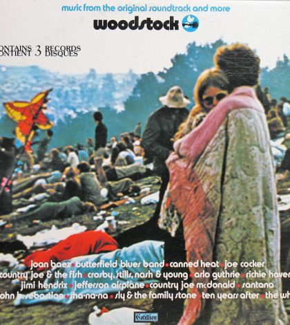 Woodstock Soundtrack Album Cover