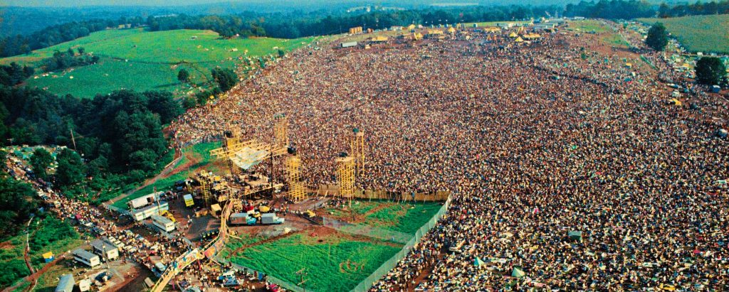 Woodstock Crowd