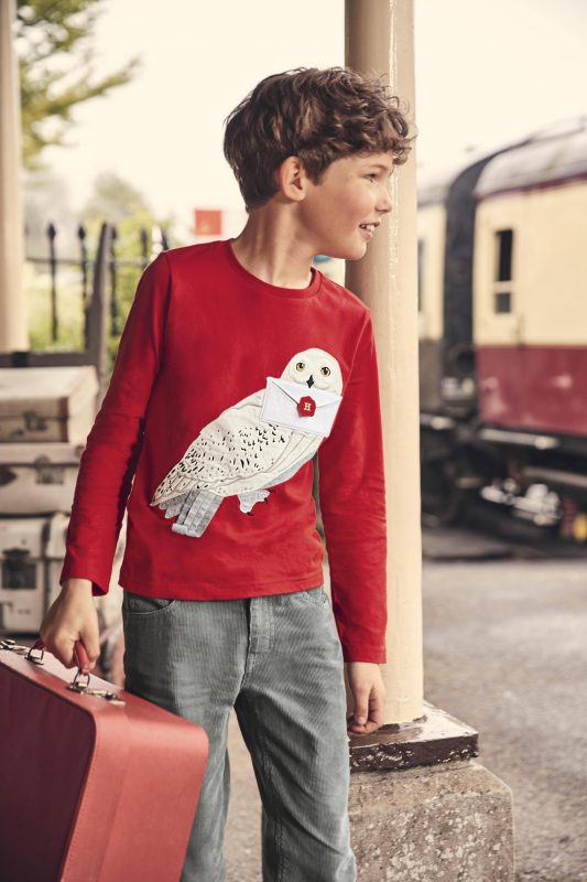 Mini Boden Harry Potter Owl Sweater