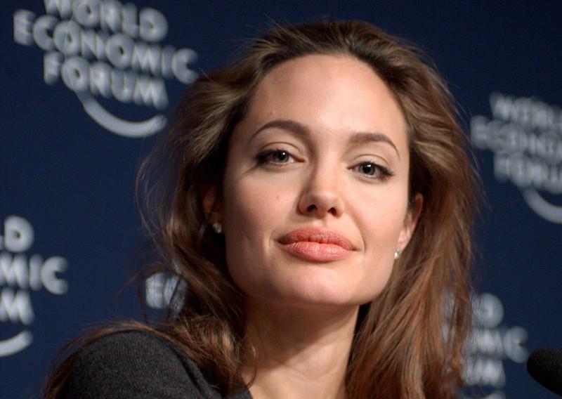 Angelina Jolie at Davos