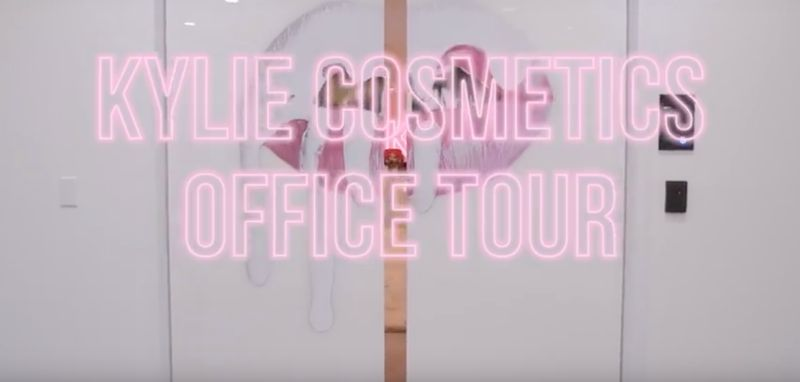 What's Inside Kylie Cosmetics Office? Kylie Jenner Takes Fans on a Virtual Tour