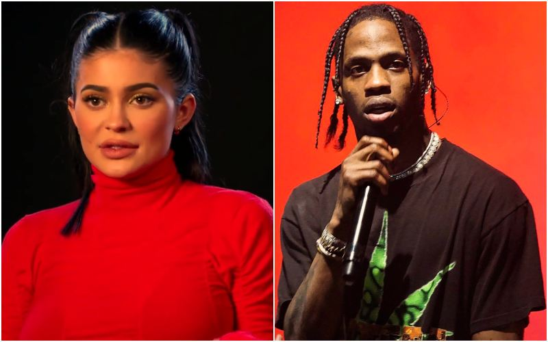 Kylie Jenner and Travis Scott Collage