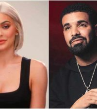 Kylie Jenner And Drake Collage
