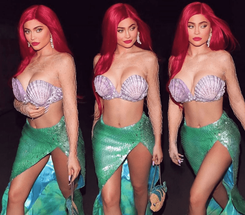 Kylie Jenner Little Mermaid