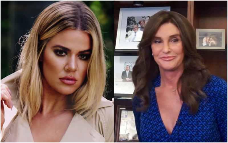 Khloe Kardashian And Caitlyn Jenner Collage