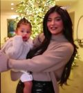 Kylie Jenner with her daughter Stormi