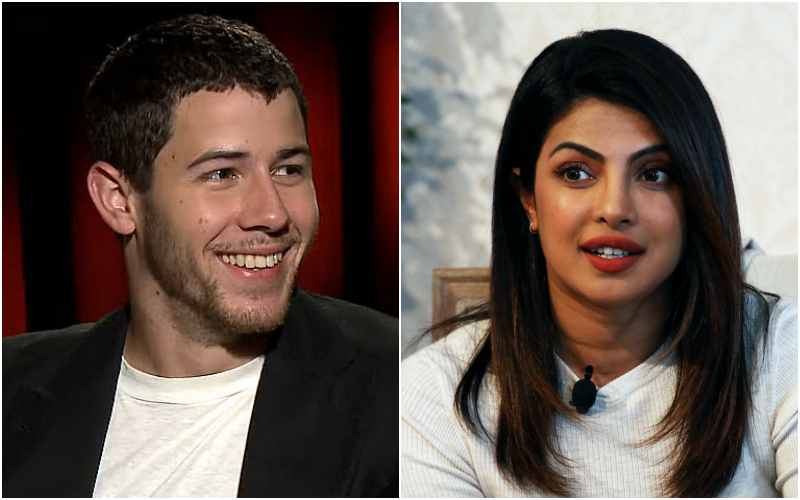 Nick Jonas And Priyanka Chopra Collage