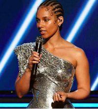 Alicia Keys at Grammys 2020