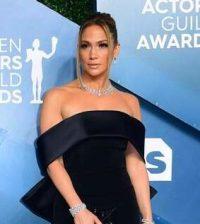 Jennifer Lopez at SAG 2020