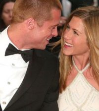 Pitt and Aniston in love