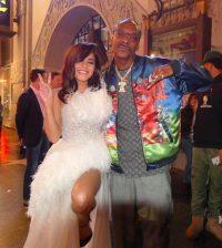 Vanessa Hudgens with Snoop Dog