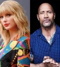 Taylor Swift and Dwayne Johnson
