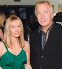 Alan Rickman and J.K.Rowling